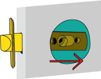 Replace interior door knobs